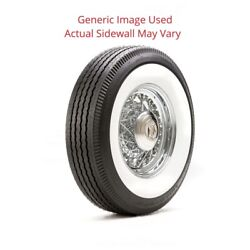 650r16 Deluxe Auburn Tire With 3.25 White Wall - Modified Sidewall 1 Tire