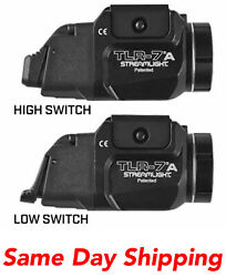 Streamlight Tlr-7a Flex Tactical Weapon Light W/rear Switch Options 69424