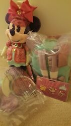 Minnie Mouse Main Attraction March Mad Tea Party Loungefly W Tag Ears Pins Plush