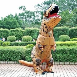 Inflatable T REX Anime Cosplay Dinosaur For Adult Kids Unisex Halloween Costume $49.99