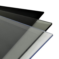 Polycarbonate Lexan Plastic Sheet Choose Size Color And Thickness