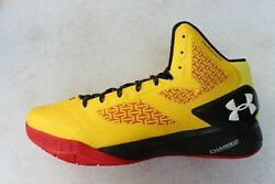 Under Armour Clutchfit Drive 2 Basketball Shoes Maryland Terrapins Mens Sz 14 $53.99