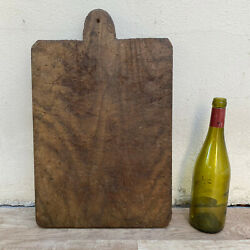 Antique Vintage French Bread Or Chopping Cutting Board Wood 2309201