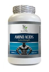 Pre Workout Supplements - Amino Acids 2200mg 1b - L-theanine Capsules