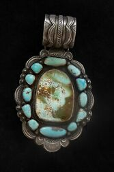 Native American Handcrafted Pendant Featuring Royston And Monte Cristo