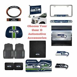 Nfl Seattle Seahawks Select Your Gear Auto Accessories Official Licensed