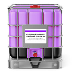 Purple Hd Fully Formulated Antifreeze/coolant - 50/50 - 275 Gallon Tote