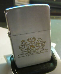 Vintage 1969 Philip Morris Cigarettes Zippo Lighter Nice Used Condition.