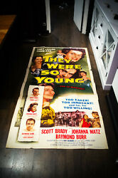 They Were So Young 41 X 81 U.s Three Sheet Movie Poster Original 1954