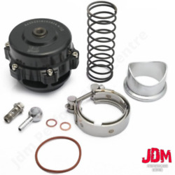 Jdm Tial Style Q Bv50 Black 50mm Blow Off Valve Bov 18psi Springs With Flange