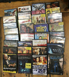 Huge Lot 68+ Dvd Collection Boxsets Movies Action New And Used Rare