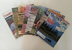 Lot Of Eight 8 Vintage Magazines Country Woman Farm And Ranch Us News...