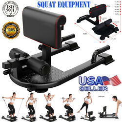 8-in-1 Squat Machine Trainer Exercise Strength Training Home Gym Fitness Workout
