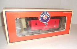 Lionel 26593 Lighted Erie C101 Window Caboose Boxed Train