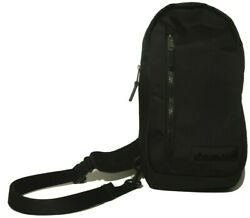 CALVIN KLEIN Men#x27;s Women#x27;s Nylon Sling Backpack Color Black 46409933 010 $45.99