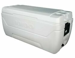 Igloo Cooler Max Cold Ice Chest Insulated Large 150 Quart 248 Can Marine Fishing $104.99