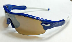 Oakley Sunglasses: Radar Pitch Straight Stem Blue Tungsten Iridium $76.99
