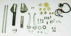 Complete Handle Headset Polished Control Kit Indian Size Lambretta Gp/dl