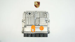 Porsche 9y0 Cayenne E3 Engine Control Unit Ecu Engine Dme Y.93