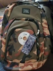 Eastport Sport Tier Backpack Camouflage Design Brand New W Tags $13.99