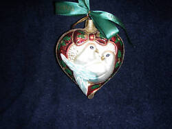 Waterford 2 Turtle Doves Ornament12 Days Series Very Raremade In Polandnib