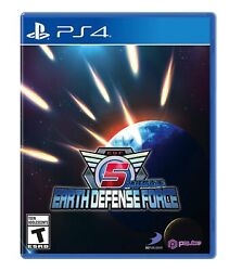Earth Defense Force 5 Playstation 4 Ps4 Brand New