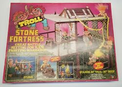 Rare 1993 Toy Street Troll Stone Fortress Protectors Force He-man Unofficial Set