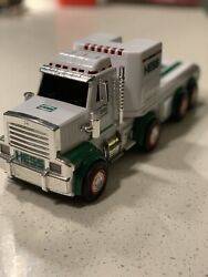 Hess 2013 Toy Truck Tractor Hauler/ Lights Sounds In Great Working Condition