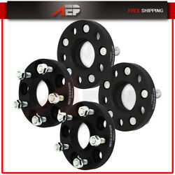 4 Pcs 5x4.5 Wheel Spacers 20mm 12x1.25 For Infiniti G37 For Nissan 370z 350z