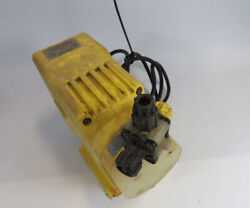 Lmi A761-65s Electromagnetic Dosing Pump Missing Dial And Connector As Is