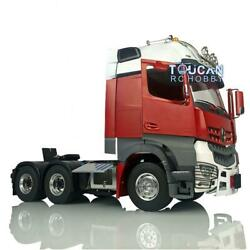 Lesu Rc 66 1/14 Metal Chassis Light Painted Hercules Actros Cabin Tractor Truck
