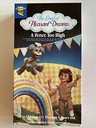The Land Of Pleasant Dreams A Fence Too High Vhs 1992 Rare Collectible Vintage