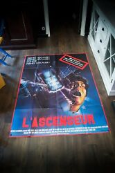 The Lift 4x6 Ft Vintage French Grande Movie Poster Original 1983