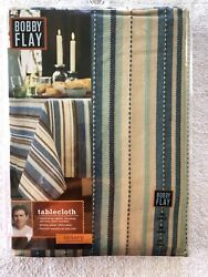 Bobby Flay Sea Serape Collection 70 In Round Tablecloth Nip
