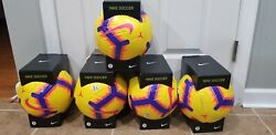 Lot Of 5 Nike Merlin Acc Official Match Soccer Ball Promo Psc630 710 Sz 5 160