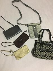 Coach Bags and Wallets Lot Of 5 $99.99