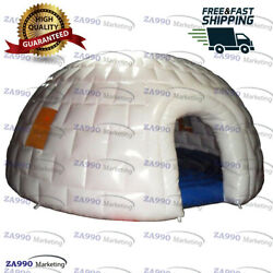 20ft Inflatable Promotion Igloo Dome Advertising Events With Air Blower