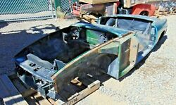 1978 Mgb Roadster Tub Shell-stripped Bare-nice Clean Shape-rustfree--solid- C2