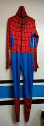 Spiderman Costume Cosplay Spider Man Superhero Morphsuit For Adult
