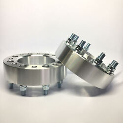 2pc 2.5 Hubcentric Wheel Spacers 8x170 | 14x2 Studs | Fits F250 F350
