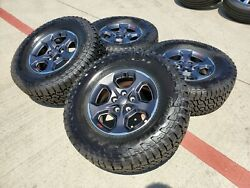 17 Jeep Gladiator 2020 Rubicon Oem Wheels Rims Tire 2018 2019 2021 Wrangler New