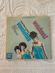 Martha And The Vandellaswatchout Mini Jukebox Lp Cover Only