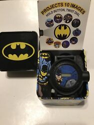 Batman Projection Watch In Collectable Tin NEW