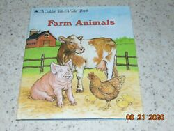 Tell A Tale Book FARM ANIMALS Identifying Animal Breeds RARE Great Shape