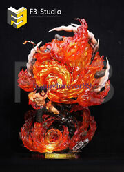 F3 Studio One Piece Portgas·d· Ace Gk Collector Led Resin Painted Limit Statue