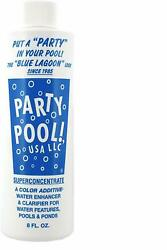 NEW Party Pool Blue Lagoon Color Additive FREE SHIPPING