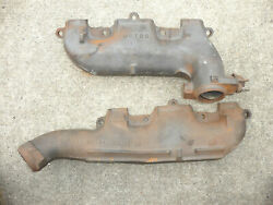 1968 Oldsmobile Hurst Olds 442 X And Y Exhaust Manifolds Real Deal