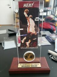 Lebron James Highland Mint Coin Picture And Stand