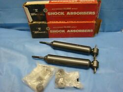 1964-1967 Chevelle Olds F85 Buick Tempest Shock Absorber Pair Front Oil Usa