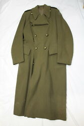 Ww2 Canadian Army Royal Montreal Regiment Majors Great Coat Named